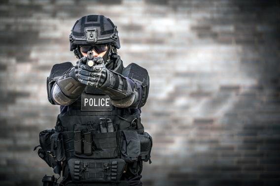 body armour for police
